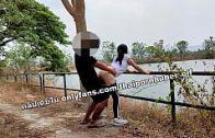 คลิปหลุดนักศึกษาไทย ไปวิ่งแล้วเย็ดหีกันที่สวนสาธารณะ คลิปหลุดนักศึกษาไทย กลางวันแสกๆแดดยังจ้าอยู่เลยยืนเย็ดหีกันซะแล้ว คลิปหลุดนักศึกษาไทย